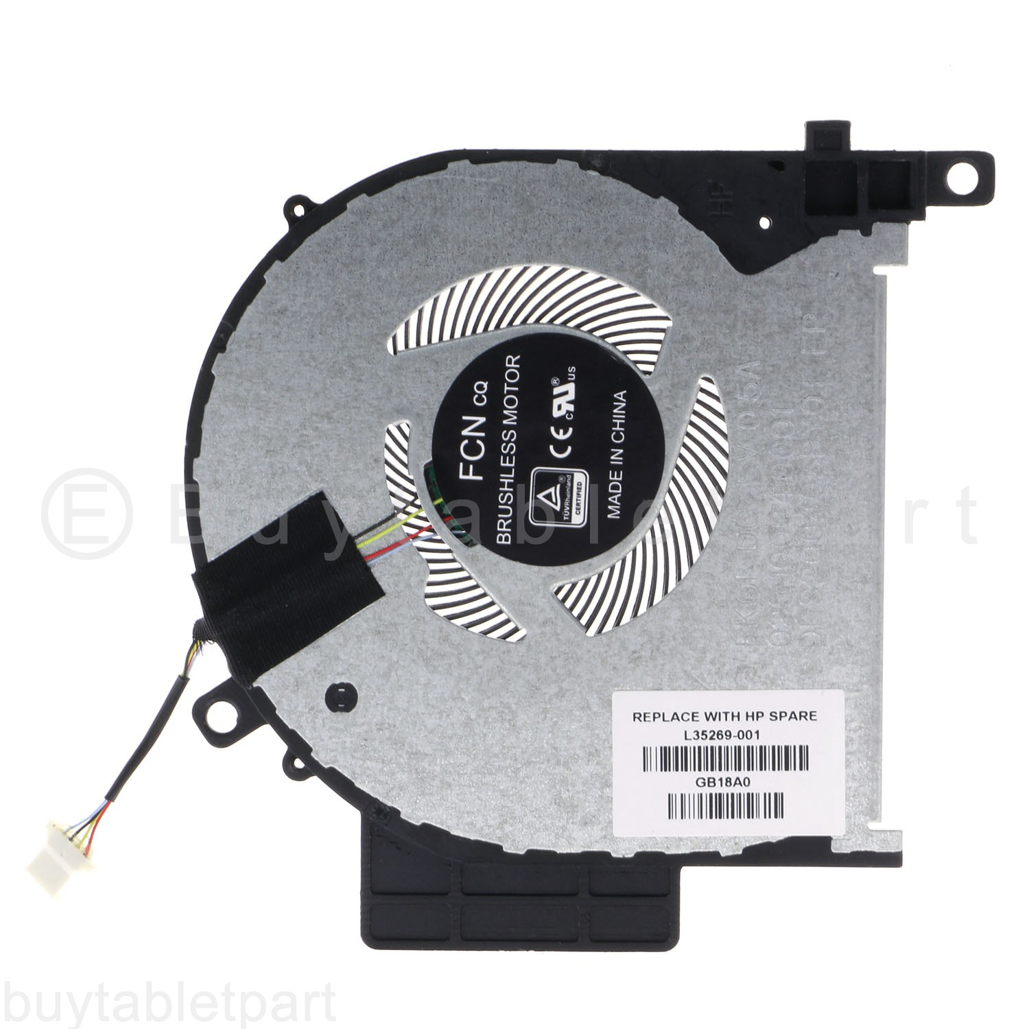 New CPU Cooling Fan For Hp Thermal Module X360 15-W154NR 807524-001
