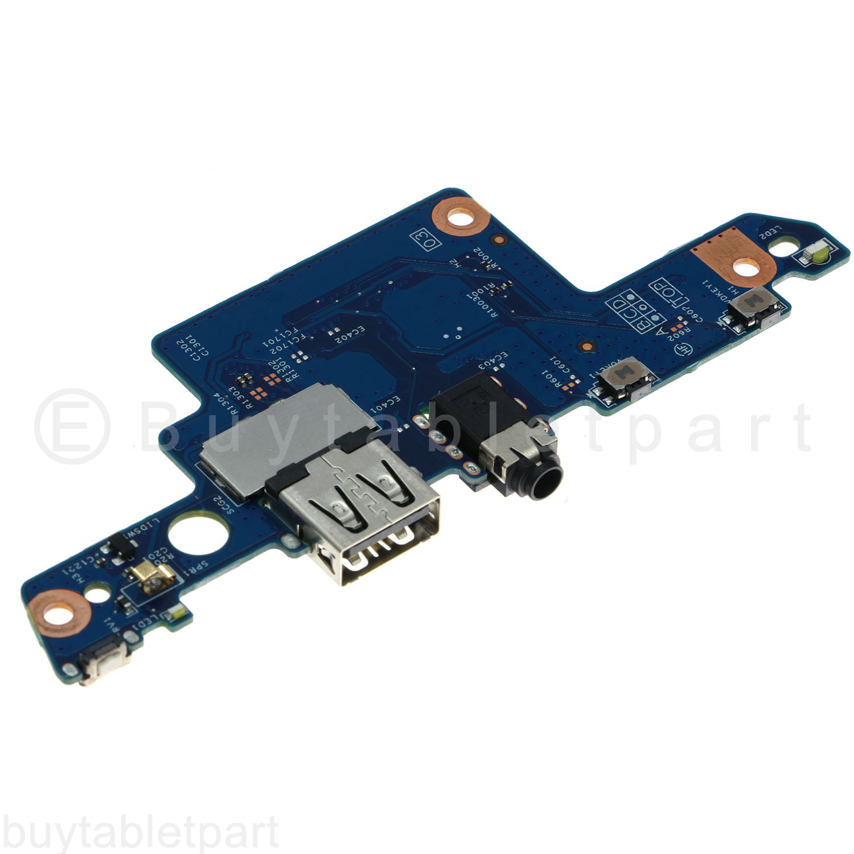 Cable Audio HP ENVY X360 M6-aq005dx Laptop USB Port Power Button Board w// R