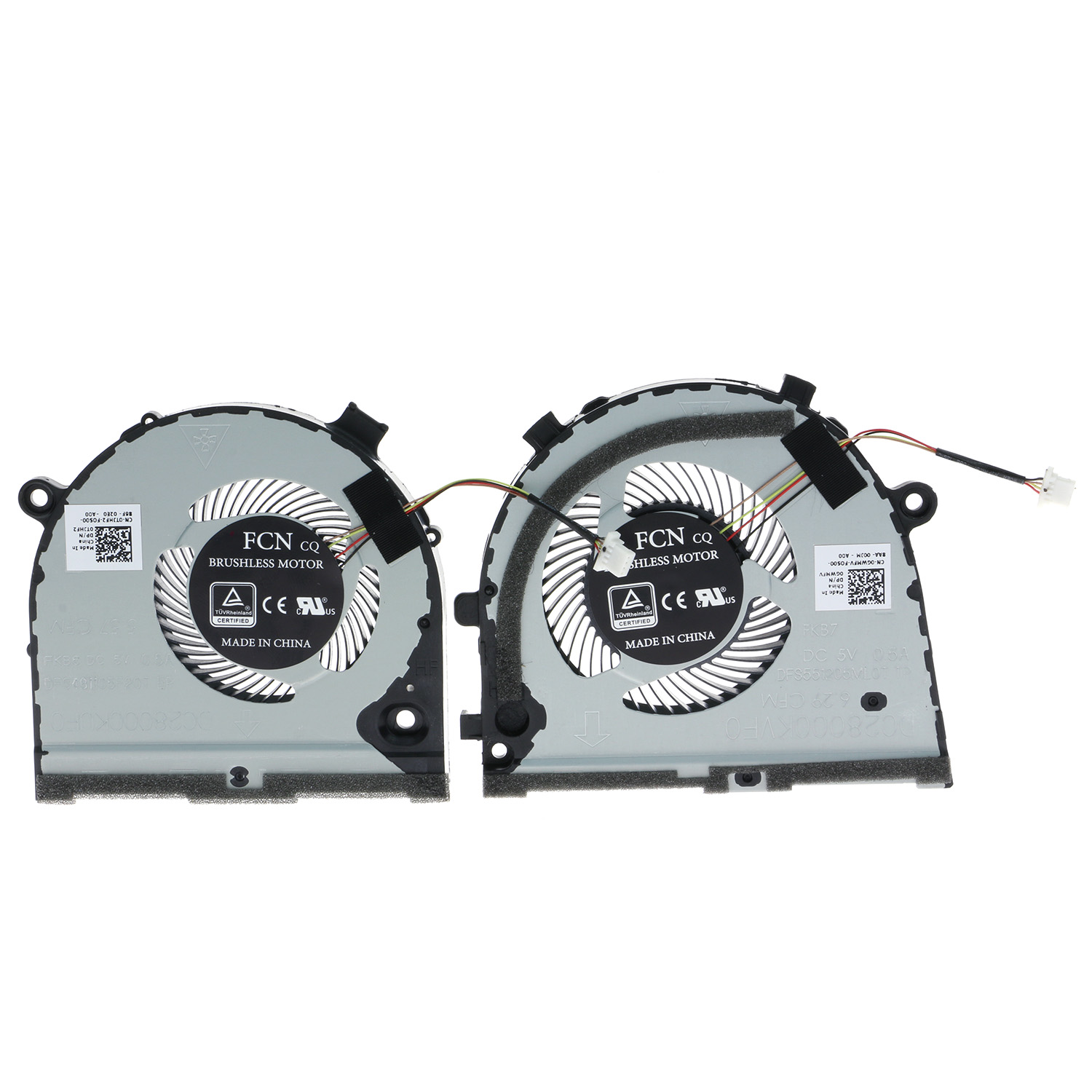 Details about TJHF2 GWMFV CPU GPU Cooling Fan For Dell inspiron Game G3  G3-3579 3779 G5 5587